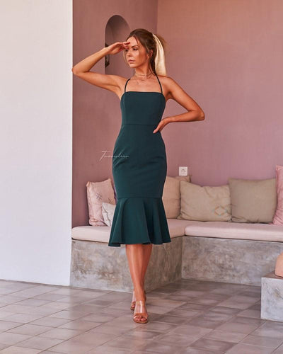 Twosisters The Label Eveleen Dress Green