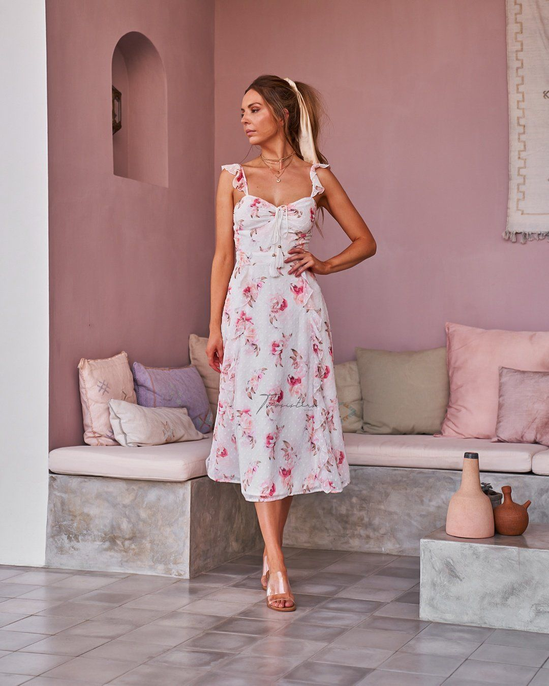 Twosisters The Label Geneva Dress Floral