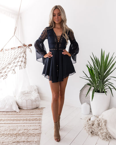 Alyse Dress NAVY