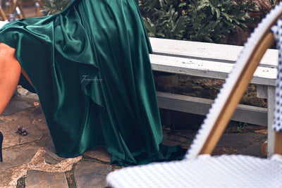 Kathleen Dress - Emerald Green