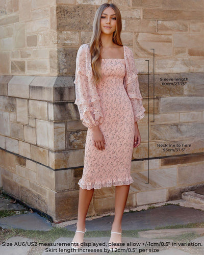 Twosisters The Label Ena Dress Baby Pink