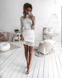 Riverdale Dress - White