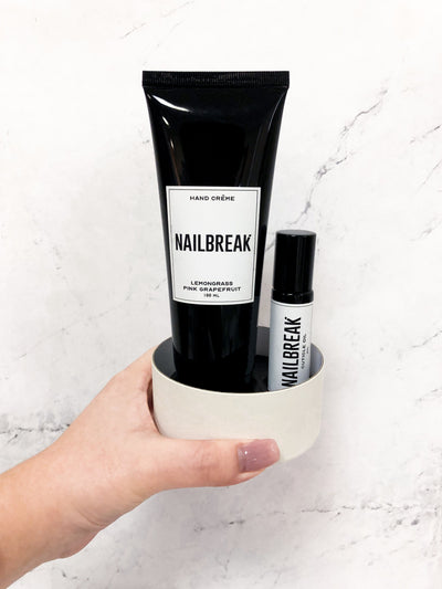 Nailbreak Hand Care Duo - White