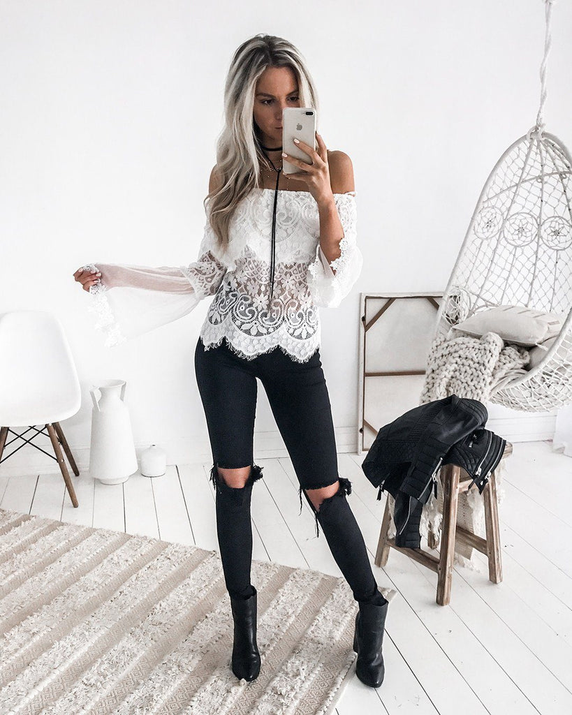 Gypsy Top - White