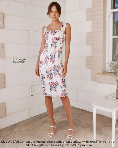 Twosisters The Label Mellie Dress Blue Floral