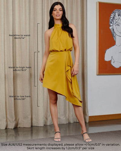 Twosisters The Label Sienna Dress Mustard