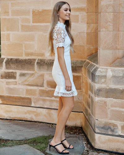 Twosisters The Label Newton Dress White