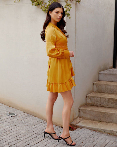 Twosisters The Label Eliza Dress Yellow