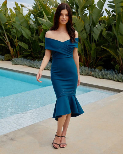 Twosisters The Label Brienne Dress Teal