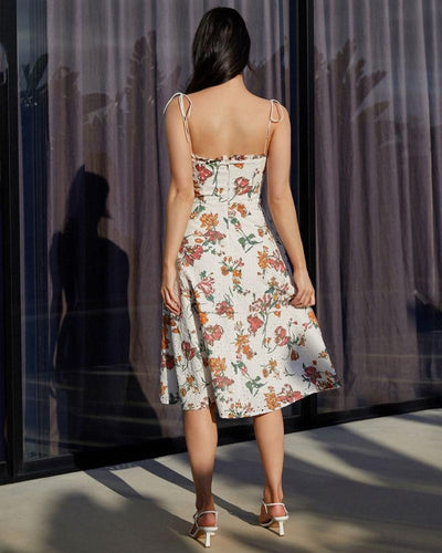 Twosisters The Label Anthea Dress Spring Print