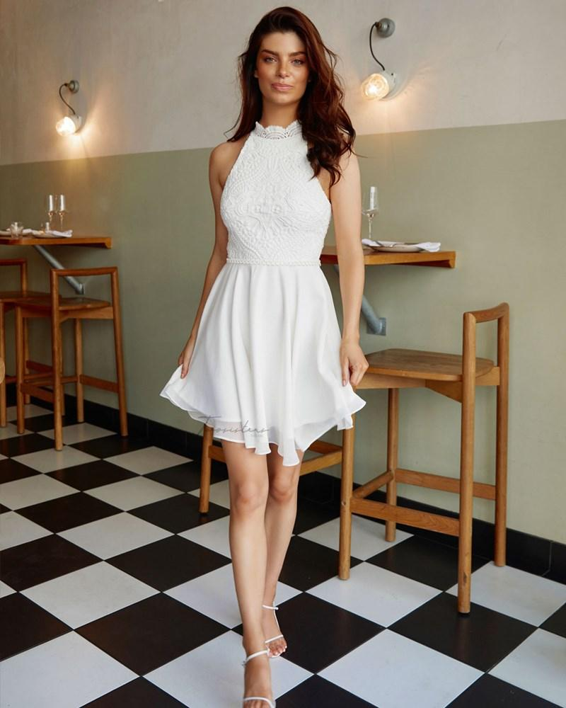 Twosisters The Label Germaine Dress White