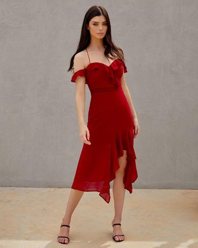 Twosisters The Label Alana Dress Red