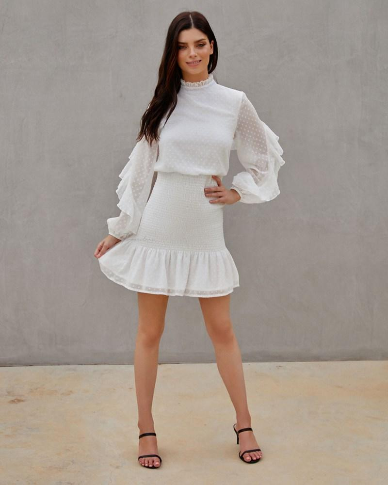 Twosisters The Label Kealy Dress White