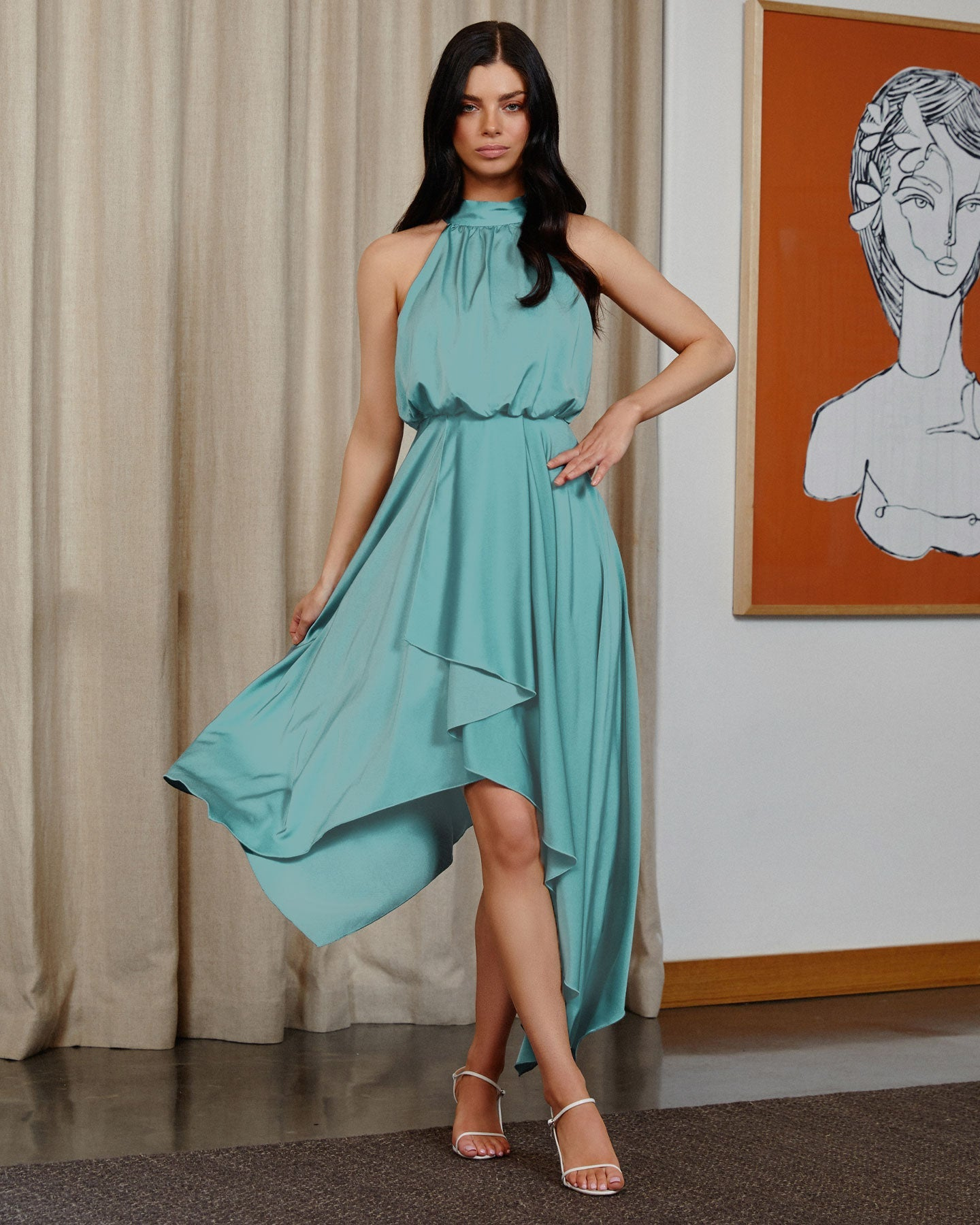 Twosisters The Label Kat Dress Teal