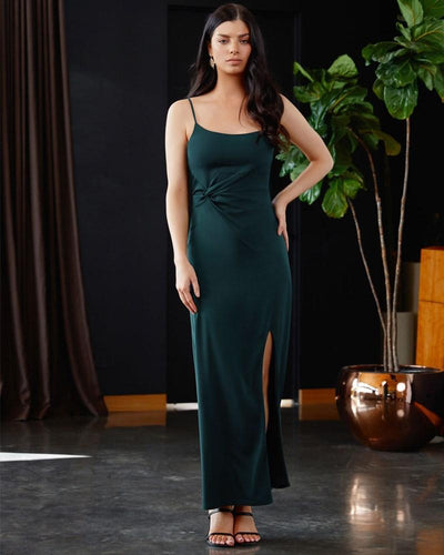 Twosisters The Label Arissa Dress Emerald Green