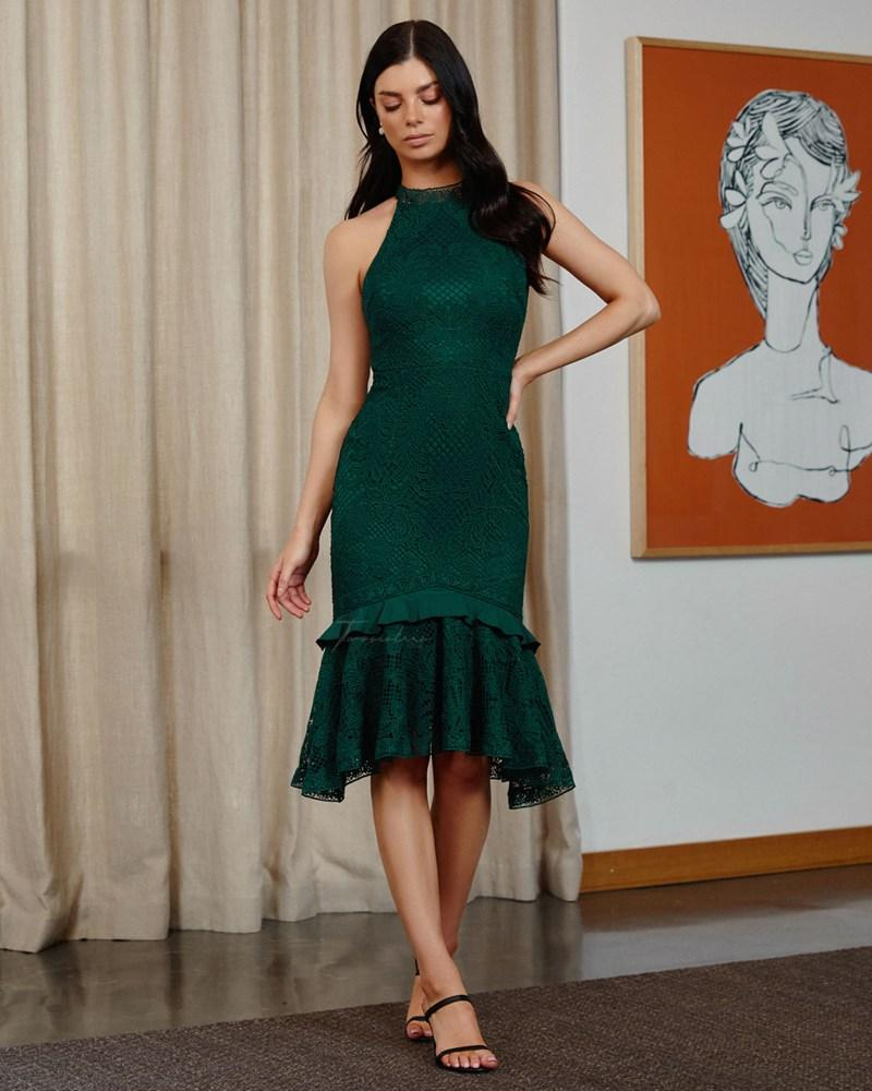 Twosisters The Label Leah Dress Emerald Green