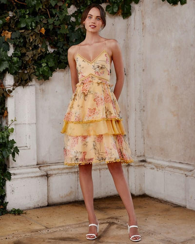Twosisters The Label Shelly Dress Yellow