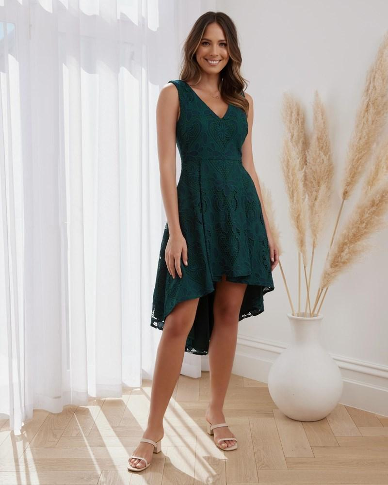 Twosisters The Label Arlo Dress Green