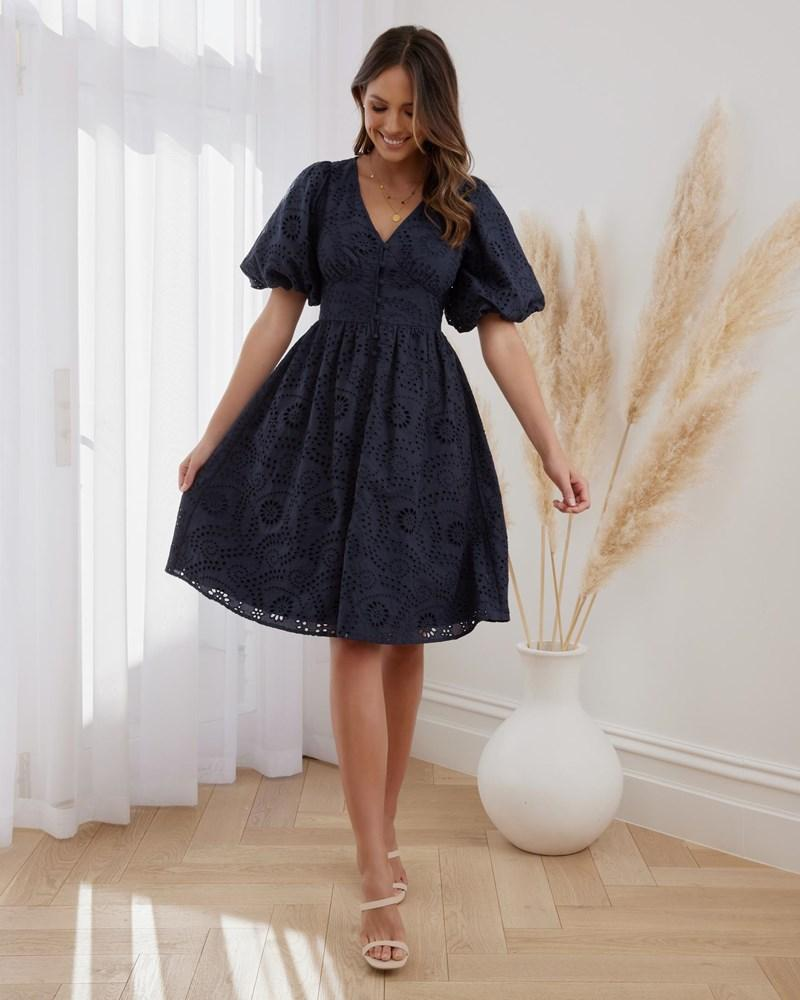 Twosisters The Label Milani Dress Navy