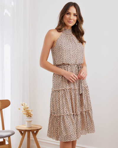 Twosisters The Label Marley Dress Leopard Print
