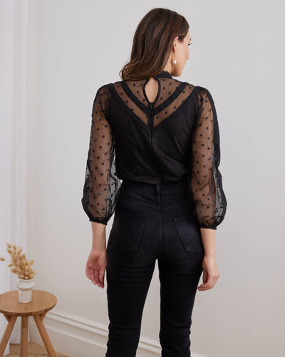 Twosisters The Label Cairo Bodysuit Black