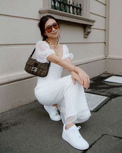 Twosisters The Label Harriette Jumpsuit White