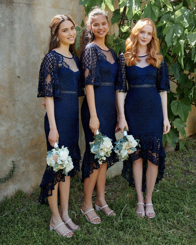 Twosisters The Label Reyna Dress Navy