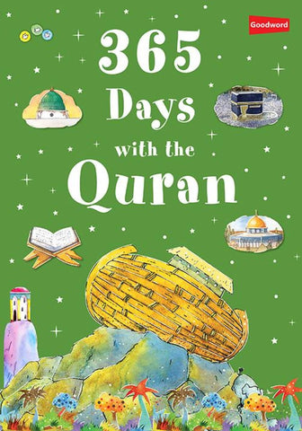 365 Days With The Quran (Hardcover) - Childrens Books - Goodword Books
