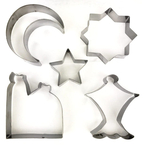 Large Islamic Cookie Cutters - Bakeware - Eidway