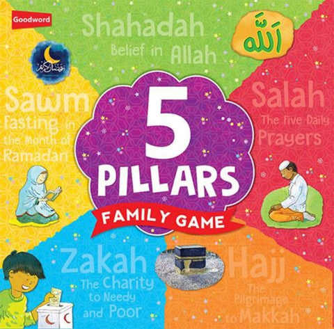 5 Pillars Family Game - Games - Goodword Books
