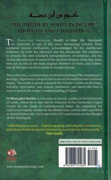 A Treasury of Ibn Taymiyyah: His Timeless Thought and Wisdom - Islamic Books - Kube Publishing