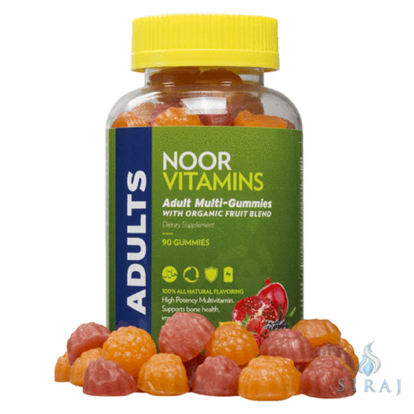 Adult Multi Gummies - Halal Vitamins - Noor Vitamins