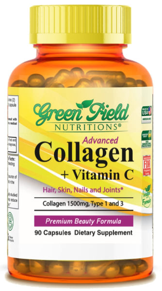 Advanced Collagen with Vitamin C - Halal Vitamins - Greenfield Nutritions