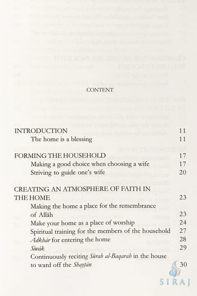 Advice On Establishing An Islamic Home - Islamic Books - Dar As-Sunnah Publishers
