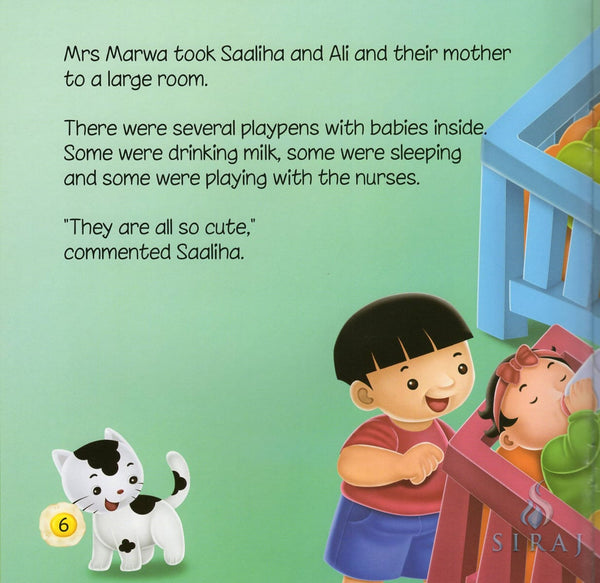 Akhlaaq Building Series: Caring For Orphans - Childrens Books - Ali Gator