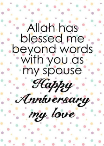 Wishes for wedding in islam