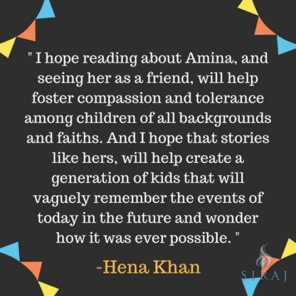 Aminas Voice - Hardcover - Childrens Books - Salaam Reads