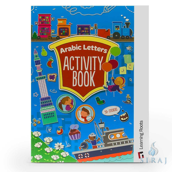 Arabic Letters Activity Book - Childrens Books - Learning Roots
