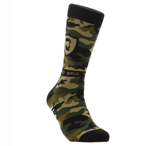 Beard Bro Camo Socks - US 8-12 - Socks - Halal Socks
