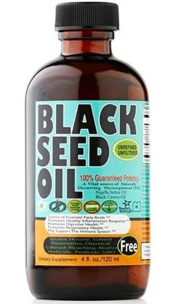 Black seed Oil 4 oz - Glass Bottle - Black Seed Oil - Sweet Sunnah