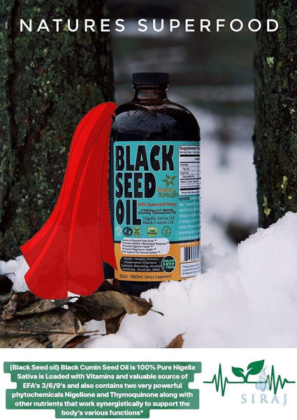 Blackseed Oil 1 oz - Glass Bottle - Black Seed Oil - Sweet Sunnah