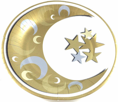 Crescent Dinner Plate 10.5 - Tableware - Eid Creations