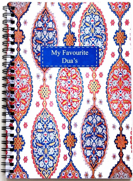 Favourite Duas Notebook - Notebooks - Islamic Moments