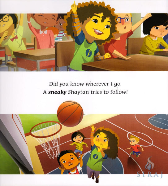 Go on Zap Shaytan: Seeking Shelter with Allah - Children's Books - The Islamic Foundation