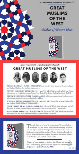 Great Muslims of the West: Makers of Western Islam (Hardcover) - Islamic Books - Kube Publishing