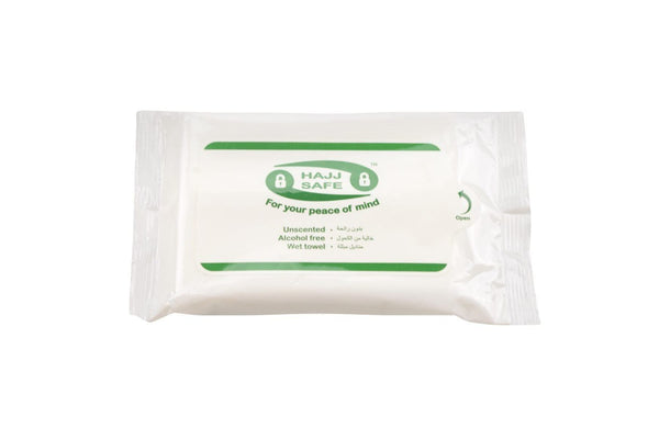Hajj & Umrah Wet Wipes - Travel Accessories - Hajj Safe