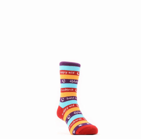 Happy Eid Kids Socks - Kids 4-6 Years - Socks - Halal Socks