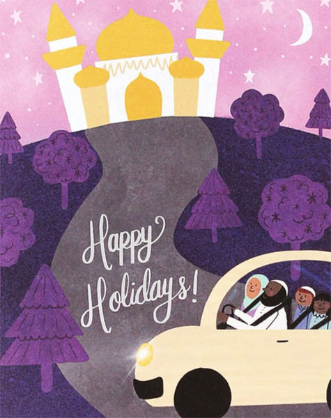 Holiday Drive - Greeting Cards - Hello Holy Days