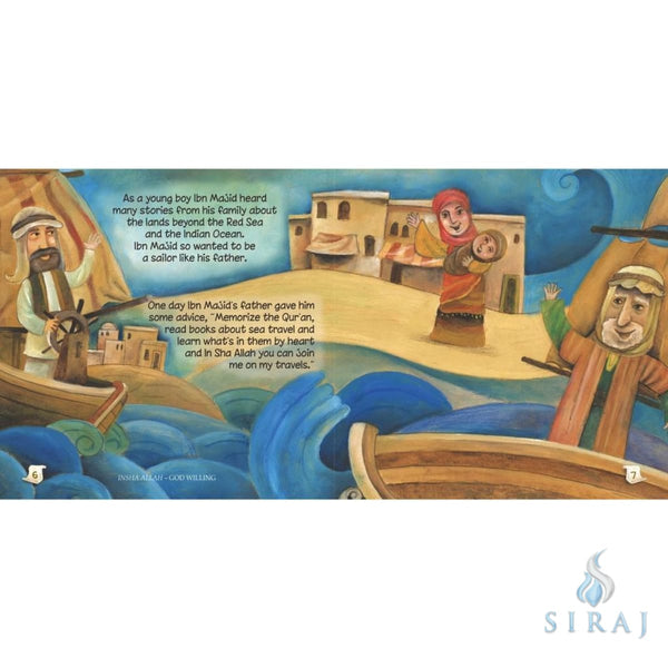 Ibn Majid: The Master Navigator - Childrens Books - Ali Gator