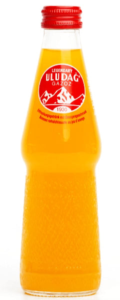 Legendary Uludag Gazoz Orange 250 ml - Soft Drink - Uludag